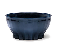 Tropez® Convection/Thermalization Ware Bowl, 9 oz., high-temp, constructed of high heat resin, Midnight blue (48 each per case) (9300B/28)