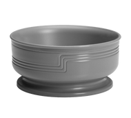 "The Shoreline Collection Entree Bowl, 16.9 oz., outside dia. 5-3/8, 2-2/5""H, dishwasher safe, polypropylene, speckled gray, NSF"