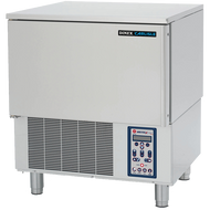 "Blast Chiller/Shock Freezer, reach-in undercounter, (4) 12"" x 20"" x 2-1/2"" pan capacity, 45 lbs. chill 160°F to 38°F/ 90 minutes and freeze 160°F to 0°F/ 4 hours, electronic control panel, core probe, self-contained refrigeration, 6"" legs, 1 hp, 208v/60/1-ph, 7 amps, NEMA 6-15P, HACCP compliant, UL EPH classified, cUL, ANSI, NSF, Made in USA (DBC45)"