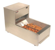 "Crisp 'N Hold® Crispy Food Station, countertop, 14-1/4""W, 837 cu.in. interior capacity, 190°F maximum temperature, on/off toggle switch with rubber boot, mechanical thermostat, removable filter & stainless steel food grate, integrated collection pan, includes (1) stainless steel food bay divider, forced-air heating system, polycarbonate rail on front, stainless steel construction, 1"" rubber feet, cULus, NSF"