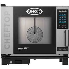 """ChefTop MIND.Maps™ Plus Combi Oven, electric, countertop, (5) 1/1 GN or (5) 12""""x20"""" hotel size pan capacity, MIND.Maps™ technology, programmable menu, 2-5/8"""" shelf spacing, glass door, right-to-left door opening, stainless steel interior & exterior, 5.8-7.7 kW, 208-240v/60/3-ph"""