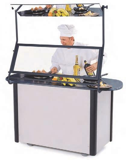 Creation Station™ Mobile Induction Food Cart LAKESIDE 307013