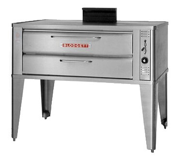 """Pizza Oven, deck-type, gas, 33""""W x 22""""D deck interior, (1) 7"""" high section, mechanical thermostat, Ultra Rokite deck, counterbalanced door with concealed hinges, full angle iron frame, stainless steel top, front, sides and back, 27-1/2"""" stainless steel legs, 27,000 BTU, cETLus, NSF"""