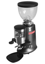 "Venezia II Espresso Grinder, manual on/off mechanical timer grinds coffee to refill fixed doser chute, 1 or 2 dose (5.5 to 9.0 g) dispenser, 2-1/2"" grinding blades, 3.0 lb. hopper capacity, adjustable grind setting, universal tamper, removable drip tray, cast aluminum frame, 120v/60/1-ph, 350 Watts, 3 amps, NEMA 5-15P, cETLus"