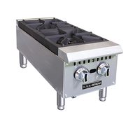 Black Diamond 2 Burner Heavy Duty Hotplates NG Adcraft BDCTH-12