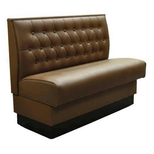 Upholstered Single Booth 45 Quot L X 48 Quot H Original Wood Seating