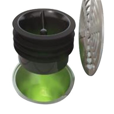 "Bar Maid®Fly-Bye™ Floor Drain Trap Seal, 3-1/2"", one-way silicon valve, for 3-1/2"" size pipe"