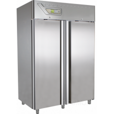 "Knocking Down system comes flat packed and easy to assemble, 2 door, 49. Cu. Ft., 56"" L x 31 ½"" D x 83"" H, 418 lbs., 28 ° F -46 ° F, Electronic control Ventilated, H.A.C.C.P. function as standard, Compact refrigeration System, Auto defrost - Auto evaporation."