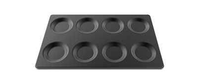 """""""EGGX 8x1"""", 12""""x20"""" Non-Stick Tray, ideal for fried eggs, omelets, pancakes, and tortillas"""