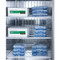 """Performance series Pharma-Lab All-Freezer, reach-in, two-section, 56""""W, 49 cu. ft. capacity, (2) self-closing solid french locking doors with 90° stay open feature, interior light, (8) adjustable wire shelves, audible open door alarm, visual & audible temperature alarms, temperature probe, forced-air cooling, digital thermostat, -30°C to -15°C temperature range, frost-free defrost, stainless steel interior & exterior, (4) 6"""" casters (2 locking), R290a Hydrocarbon refrigerant, 115v/60/1-ph, 10.5 amps, UL, ULC, ETL-Sanitation (Medical)"""