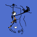 Grin Big!™ Women's Climbing TeeShirt Graphic