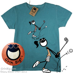 Women's Golfing Cotton T-Shirt