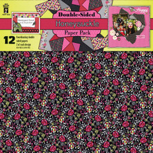 """HOTP 4230 Honeysuckle Paper Pack 12-Coordinating Double-Sided 12x12"""" Sheets"""