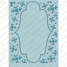 CUTTLEBUG WINTER FROLIC Embossing Folder Set of 4 2000566 CHRISTMAS CRICUT COMPANION