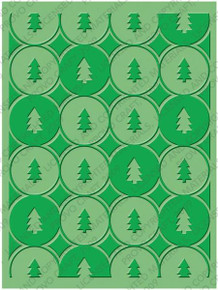 CUTTLEBUG WINTER TREES A2 Embossing Folder 37-1930
