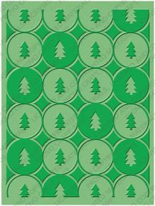 CUTTLEBUG WINTER TREES A2 Embossing Folder 37-1930