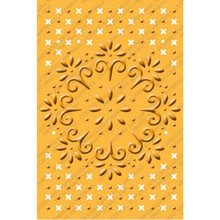 CUTTLEBUG BLOOMING BOUQUET A2 Embossing Plus Folder Cuts and Embosses! 2000258