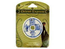 Orient Express Asian Inspired Pendant Ceramic Embellishment Use for Jewelry or Card Art