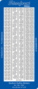 Starform BLACK GOLD 1033 BORDERS & CORNERS Peel Stickers