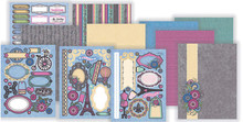 Hot Off The Press Ooh La La! Artful Card Kit 7273