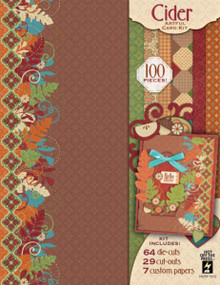 Artful Card Kit - Cider Artful Card Kit 7272 Beautiful Autumn Colors