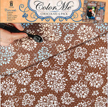 Color Me Chocolate Brown 4208 Paper Pack 6pc 12x12