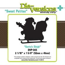 Die-Versions DVP-045 SANTA'S SLEIGH Sweet Petites Cutting Die