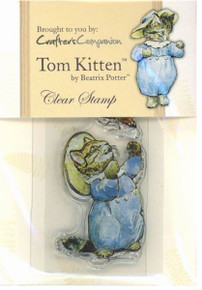 BEATRIX POTTER Clear Stamps TOM KITTEN FULL-COLOR INDEX 2X3IN