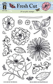 19 HOTP FRESH CUT 1098 Rubber Stamps Unmounted