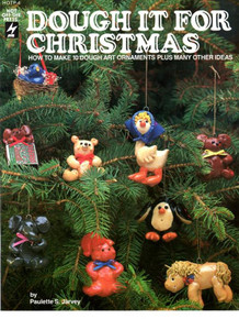 Dough It For Christmas Clay Dough Polymer Sculpey NEW OOP Book Art Ornaments