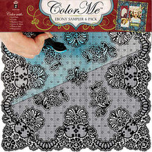 Color Me EBONY BLACK 4184 Paper Pack 6pc 12x12