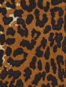 1pc Animal Print 8.5x11 GIRAFFE Velveteen with Adhesive Backing Specialty Paper
