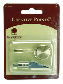 Walnut Hollow Creative Points for Woodburning Hot Tools