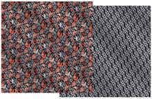4pc FOIL 12X12 Butterfly Foil & Silver Swirls Paper Pizazz HOTP