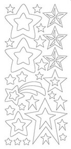 HOTP Dazzles Double-Stick Star Stickers 1614