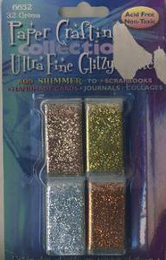 Glitzy Glitter 32gms Bronze Gold Silver Copper Ultrafine AF
