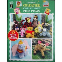 Walt Disney Character Collection Pom Poms Book