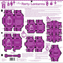 HOTP Tempalte 7372 Mini Party Lanterns 12x12