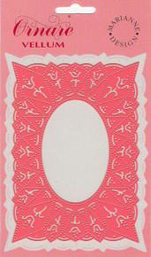 Ornare Vellum Pricking Stencil Template Tulip Frame