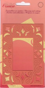 Ornare Piercing Cutting Template Rectangle Frame