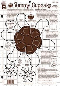 HOTP Template 7351 8.5x11 Yummy Cupcake (Smaller Temp)
