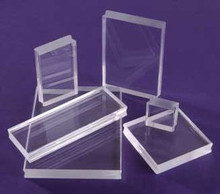 See D's 2 SeeClear Acrylic Blocks 1X3X.25