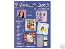 Shauna's Shaunas Secrets of Scrapbooking NEW Techniques
