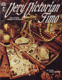 Very Victorian Fimo Polymer Clay Book HOTP271 OOP RARE NEW LOWER PRICE!