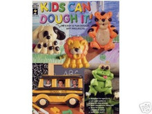 Kids Can Dough It! Art Polymer Clay FIMO OOP NEW Book