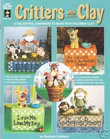 Critters with Clay Polymer Sculpey FIMO Book OOP