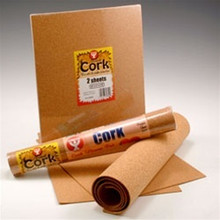 "2mm Cork 12 x 24"" Roll High Quality Thin Sheet 39841"