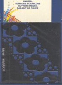 3-D Flower Template Mery Card Making - mm0003