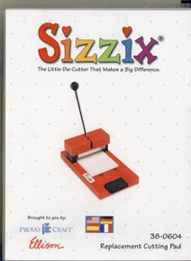 Sizzix ORIGINAL Die REPLACEMENT Cutting Pad