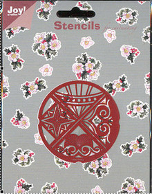 Joy Crafts Decorative Stencil #22 Embossing